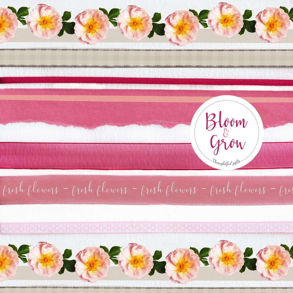 Floral flower wrapping paper UK eco friendly