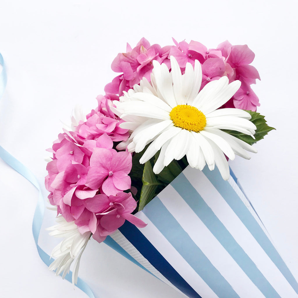 Do It Yourself Flower Wrapping Gifts