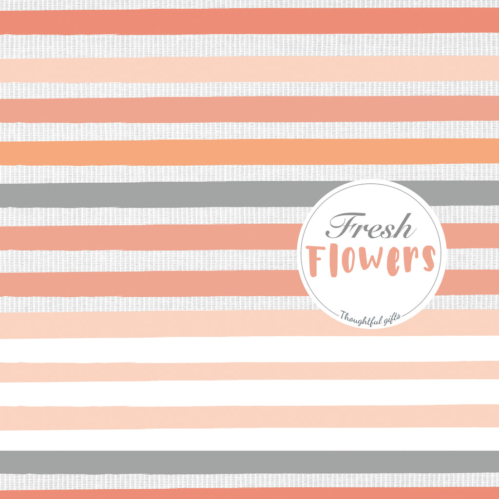Coral Flower Wrap and Stickers Kit