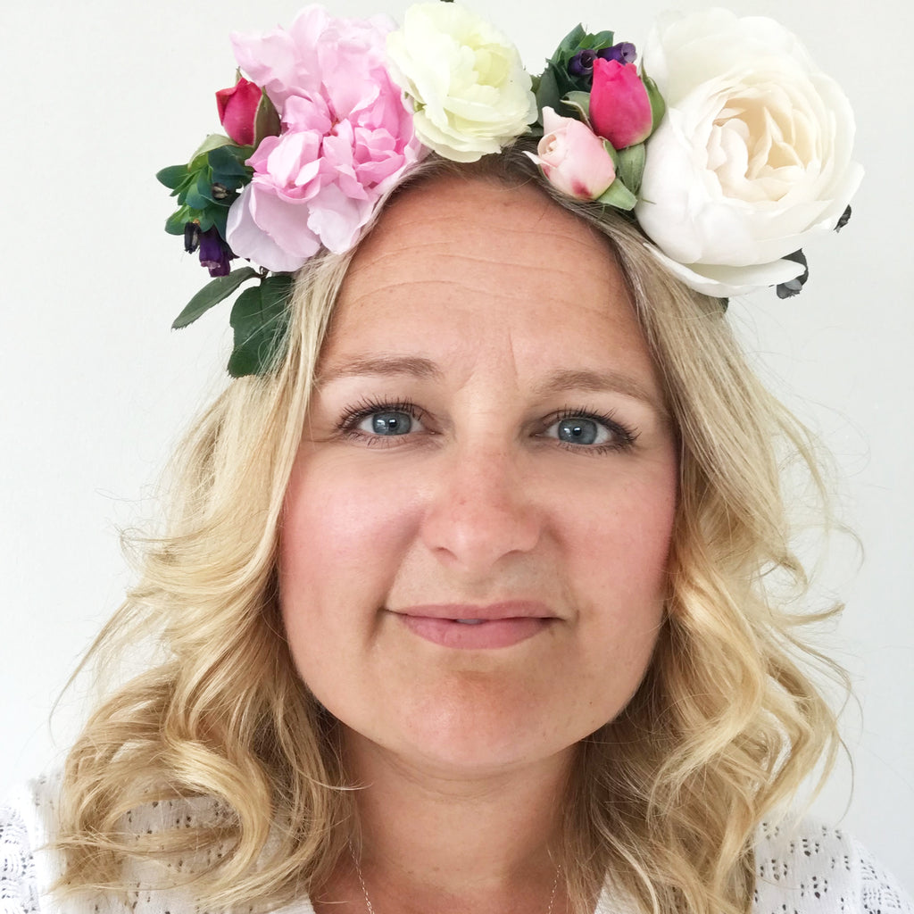 DIY Creative Flower Crowns