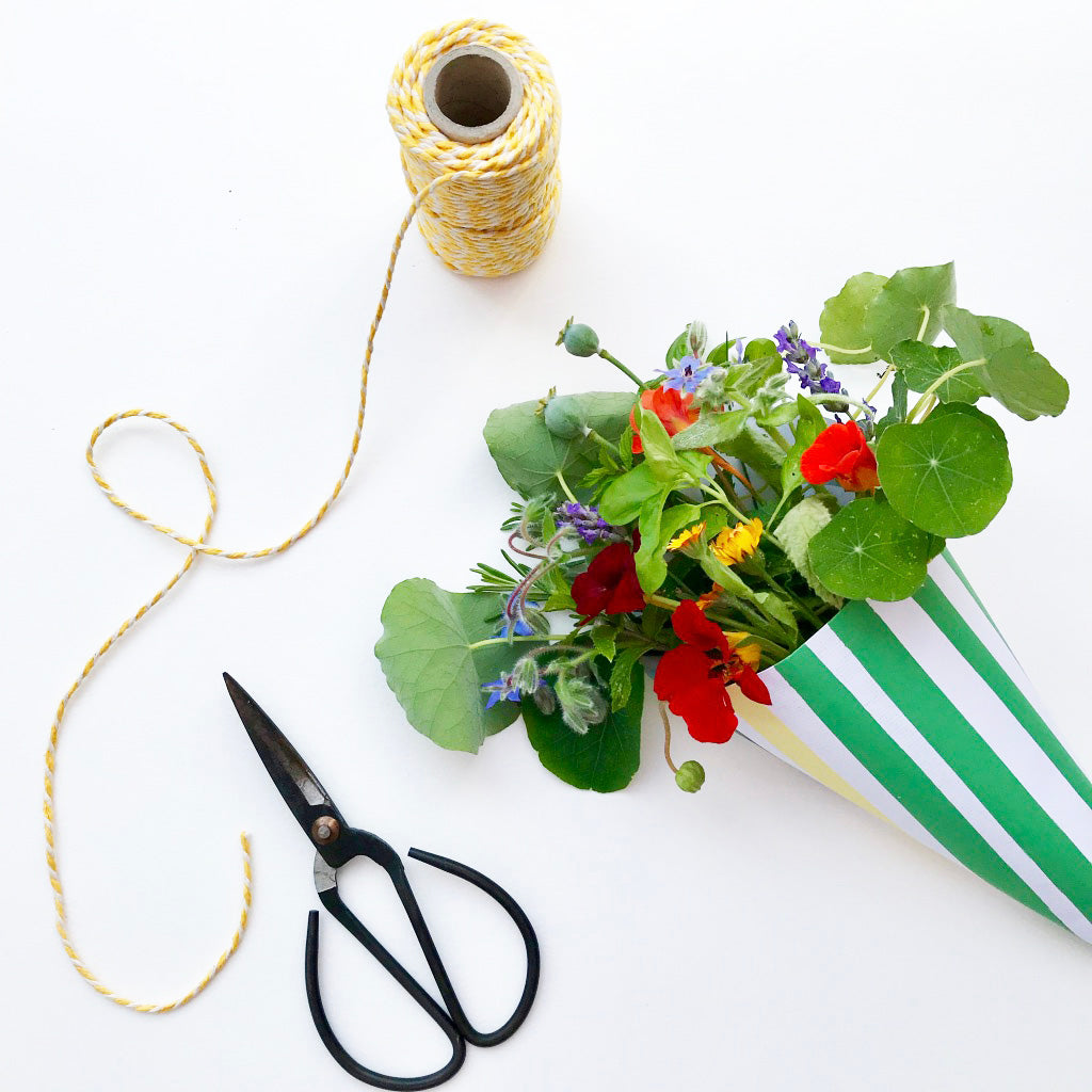 Edible Flower Wrap and Stickers Kit