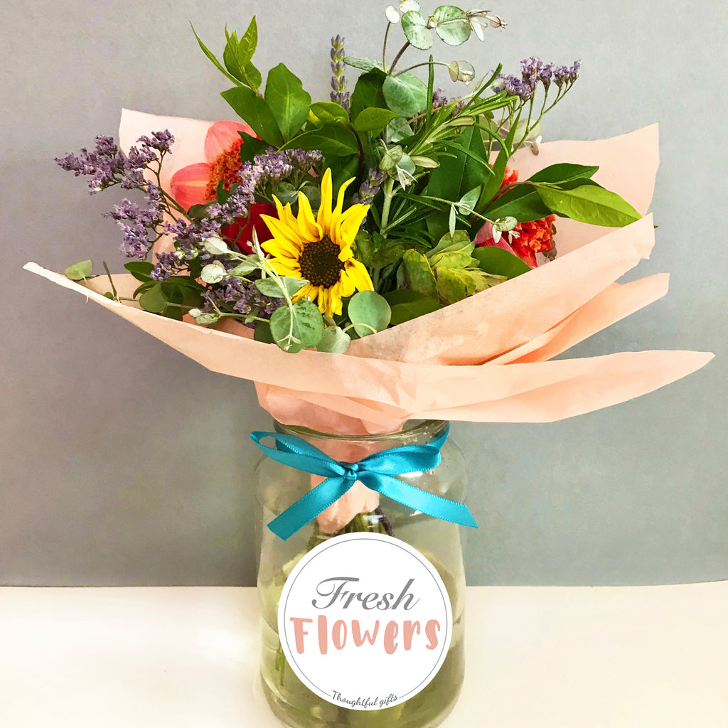DIY Flower Flower Gift Crafty Idea