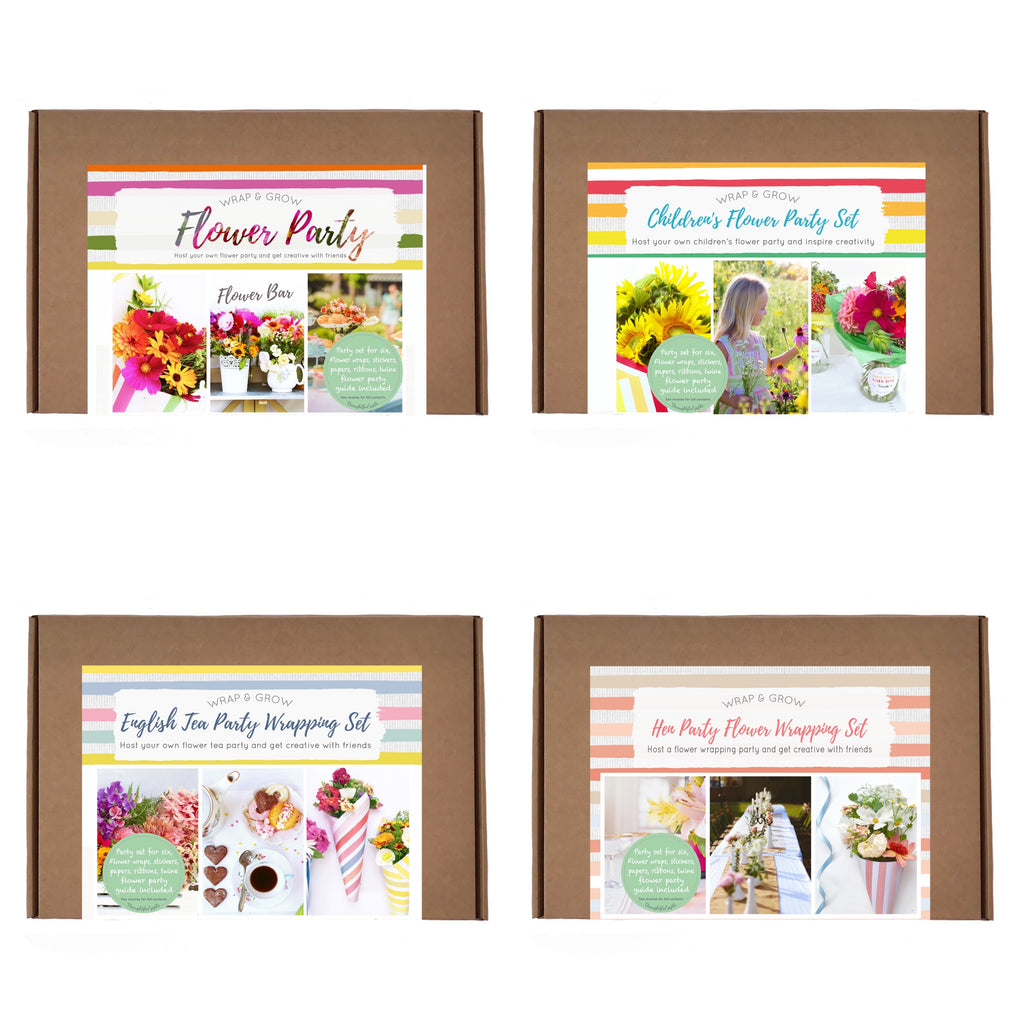 Flower Party Kits - Children, Tea Party and Hen Party Flower crowns