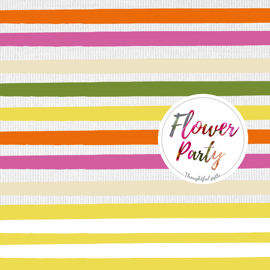 Flower Party Wrap and Stickers Kit