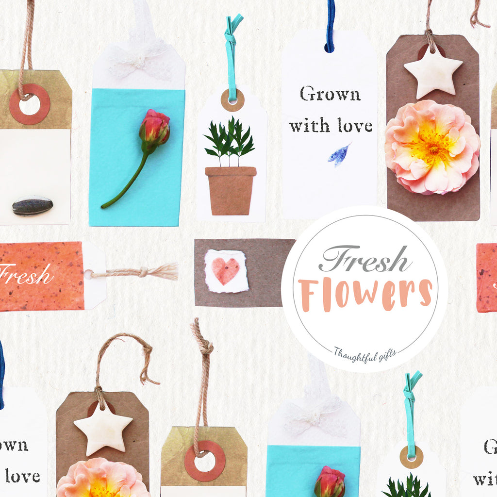Fresh Flower Wrap and Sticker Kit - Kelly Rideout Design