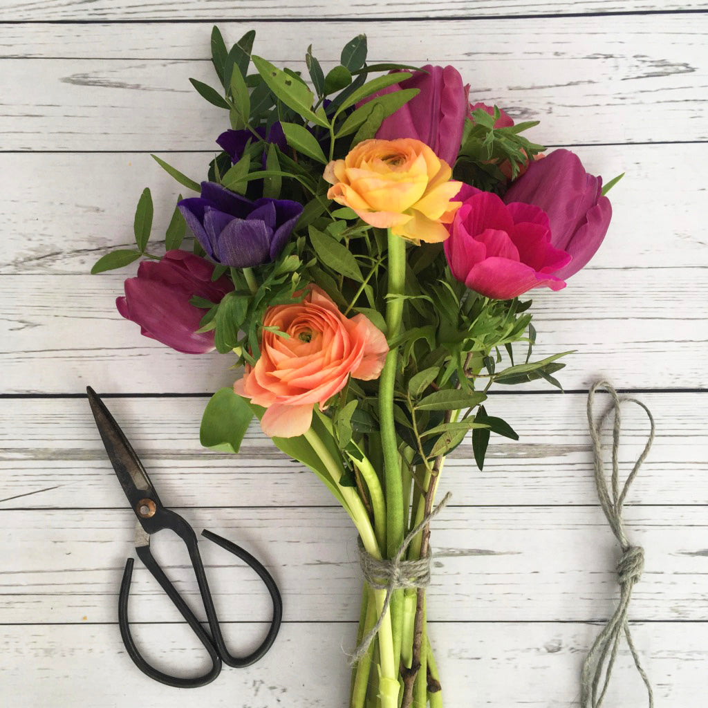 Cut Garden Flowers - Kelly Rideout Design