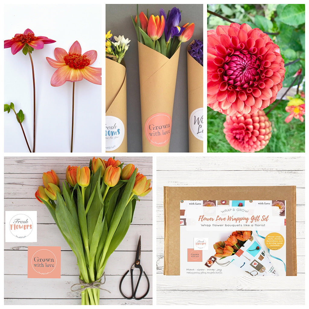 Flower Love Gift Set Create Your Own Flower Bouquets
