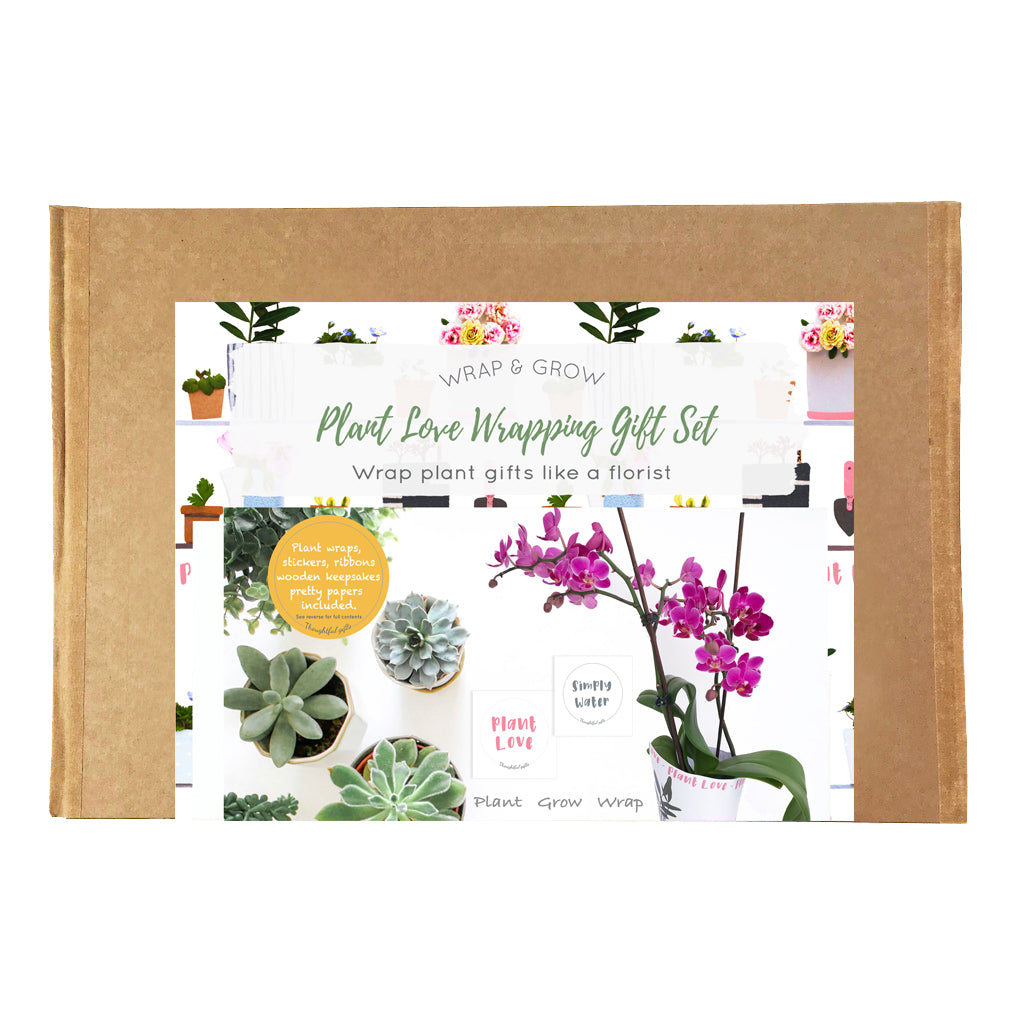 Plant Love Wrapping Gift Set - Kelly Rideout Design