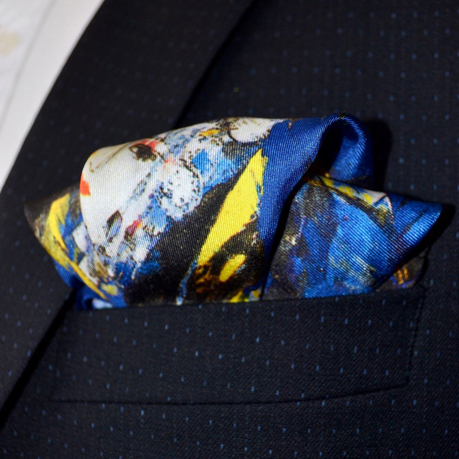 THE LEGEND OF THE WHITE SNAKE - Pocket Square Limited Edition