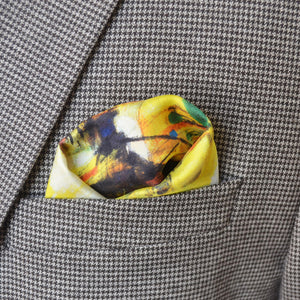 TENDER LOVE LIKE WATER - Pocket Square Limited Edition