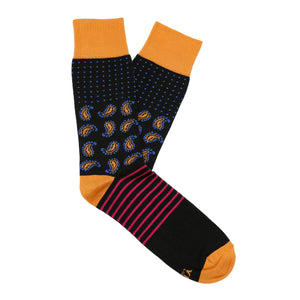 Made in Great Britain Men's Socks - Beautiful Twin Pack Black