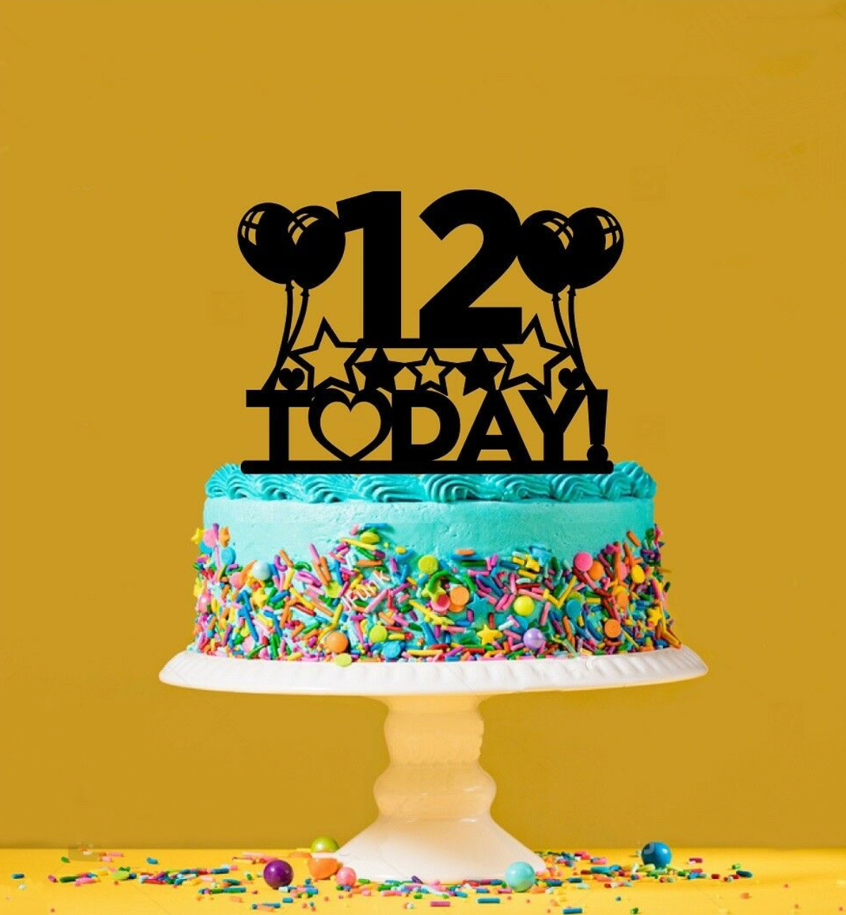 Tremendous 12Th Birthday Cake Topper 12 Years Old Twelfth Personalised Funny Birthday Cards Online Overcheapnameinfo