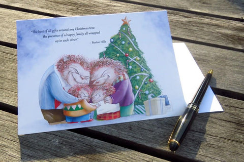Christmas Card - The best of all gifts around any Christmas tree