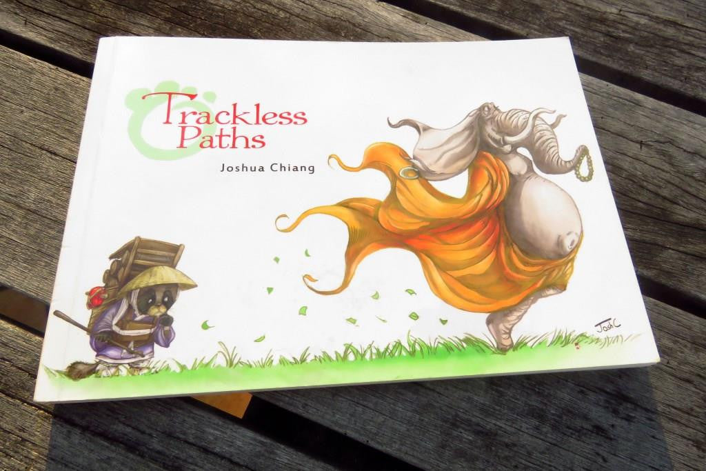 Trackless Paths by Joshua Chiang, a coffee table book with meaningful quotes and beautiful illustrations of animals