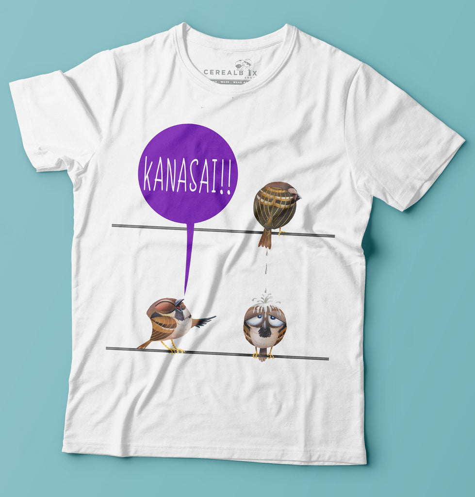 Design t shirt online singapore - Kanasai T Shirt Is Part Of Cerealbox Shop S Sg Animal Collection Designed By Singapore Illustrator