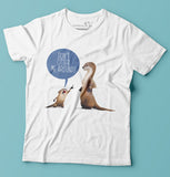 Don't Otter Me Around T-shirt is part of Cerealbox Shop's SG Animal Collection designed by Singapore Illustrator Joshua Chiang