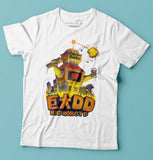 Big Robo D T-shirt is part of Cerealbox Shop's Retro TV Collection designed by Singapore Illustrator Joshua Chiang
