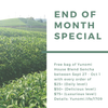 End of Month Promo (Sept 2017): Free bag of sencha