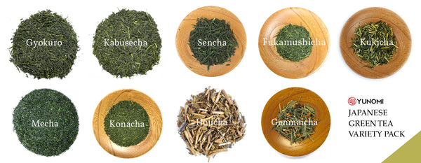 List of Japanese Teas
