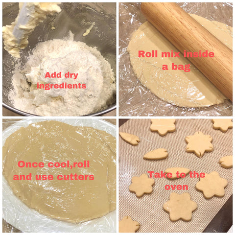 Sakura Sugar Cookies Recipe