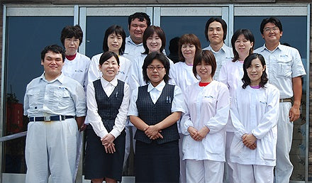 Skilled staff of Kamagari Bussan
