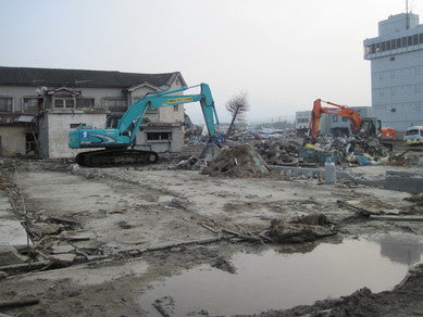 Aftermath of the 2011 Tsunami in Northern Japan