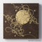 Hana & Haku: Decorative Washi Paper Panel (Brown #3) - 1