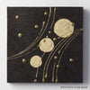 Hana & Haku: Decorative Washi Paper Panel (Black #1) - 1