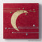 Hana & Haku: Decorative Washi Paper Panel (Red #3) - 1