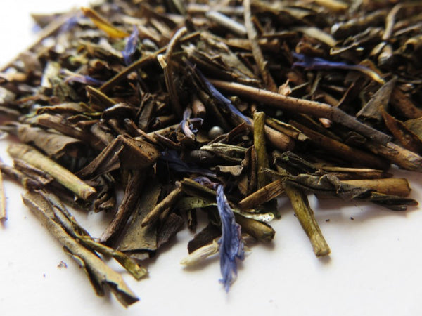 Ocharaka: Hojicha Mint Chocolate flavored roasted green tea 30g