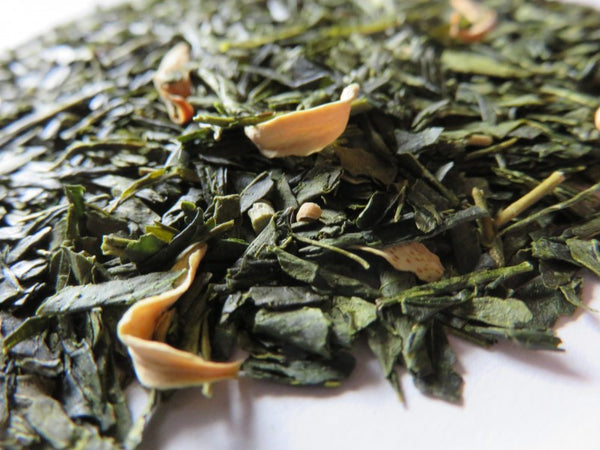 Ocharaka: Peach Flavored Green Tea