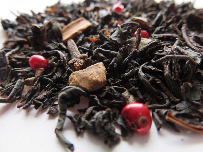 Ocharaka: Cinnamon & Spices Flavored Black Tea 30g