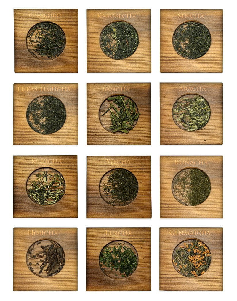 Yunomi: 12 Japanese Green Teas Variety Set - 2
