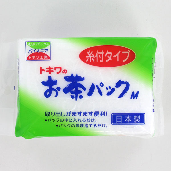 Fillable Tea Bags with string, 95 x 70 mm, 50 pcs トキワお茶パックM