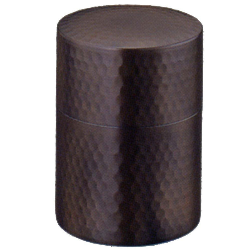 YUNOMI: Tea Canister: Copper Brown - 1