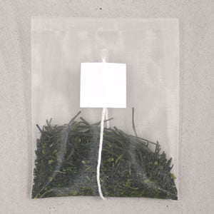 Seiwa 58054: Flat or Pyramid Mesh Tea Bags with Tag, 65 x 80 mm - 1