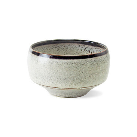 Saikai Ceramics: Hakuwan - Shiroyuzu, White Yuzu Porcelain Matcha Bowl with Gift Box