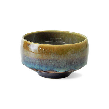 Saikai Ceramics: Hakuwan - Jatenmoku, Porcelain Matcha Bowl with Gift Box