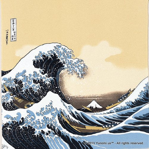 Iyo Yuinoh Center, Furoshiki: The Great Wave off Kanagawa (large)