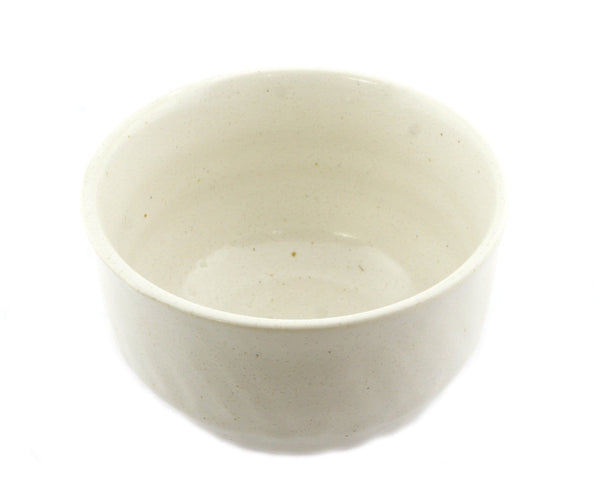 Kizoku Club: White Bizen-yaki Mini Matcha Bowl - 1