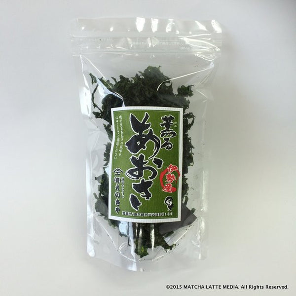 "Enokiya's Dried Sea Lettuce ""Kaoru Aosa"" from Ise - 1"