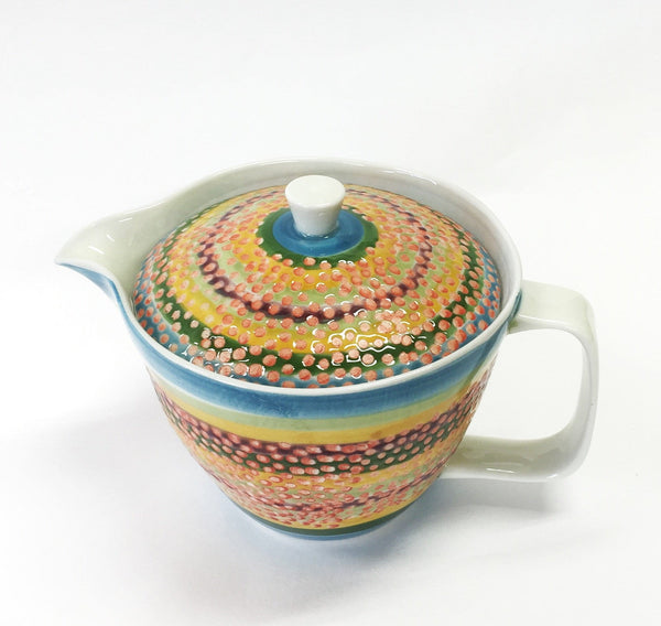 AIYU: Tropical Retro Tea Pot BL 250 ml - 1