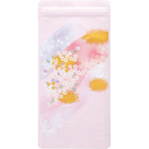 Seiwa 10920: Resealable bag (Japanese washi paper, pink, flat, 110 x 230 mm)
