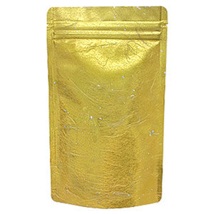 Seiwa: Resealable stand bag (gold Japanese washi paper, 6 sizes) - 6