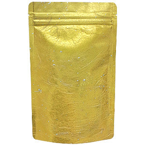 Seiwa: Resealable stand bag (gold Japanese washi paper, 6 sizes) - 5