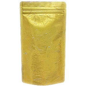 Seiwa: Resealable stand bag (gold Japanese washi paper, 6 sizes) - 4