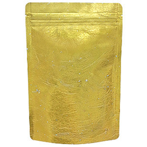 Seiwa: Resealable stand bag (gold Japanese washi paper, 6 sizes) - 3