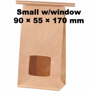Seiwa: Wire Fold Craft Bags with Window - 1
