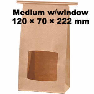 Seiwa: Wire Fold Craft Bags with Window - 4