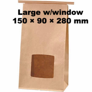 Seiwa: Wire Fold Craft Bags with Window - 5